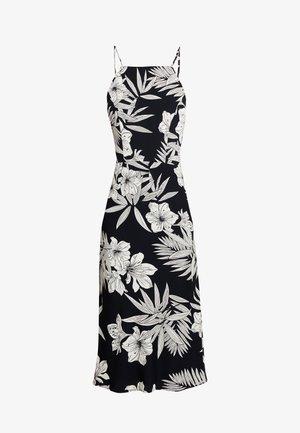 HALTER DRESS - Day dress - black/white