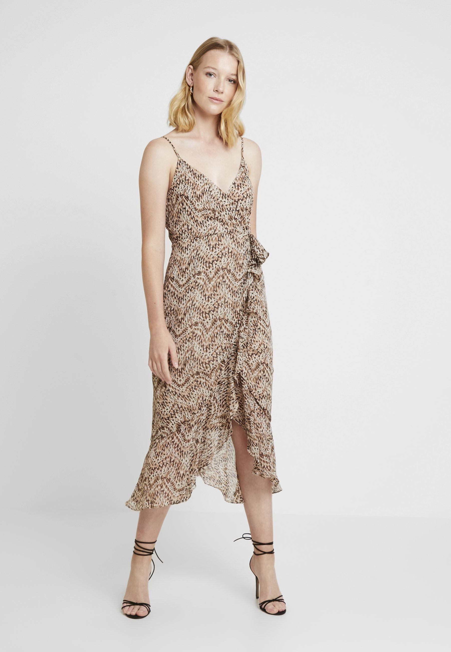 Multi DressRobe Longue Ellie coloured Bardot kuTPZOXi