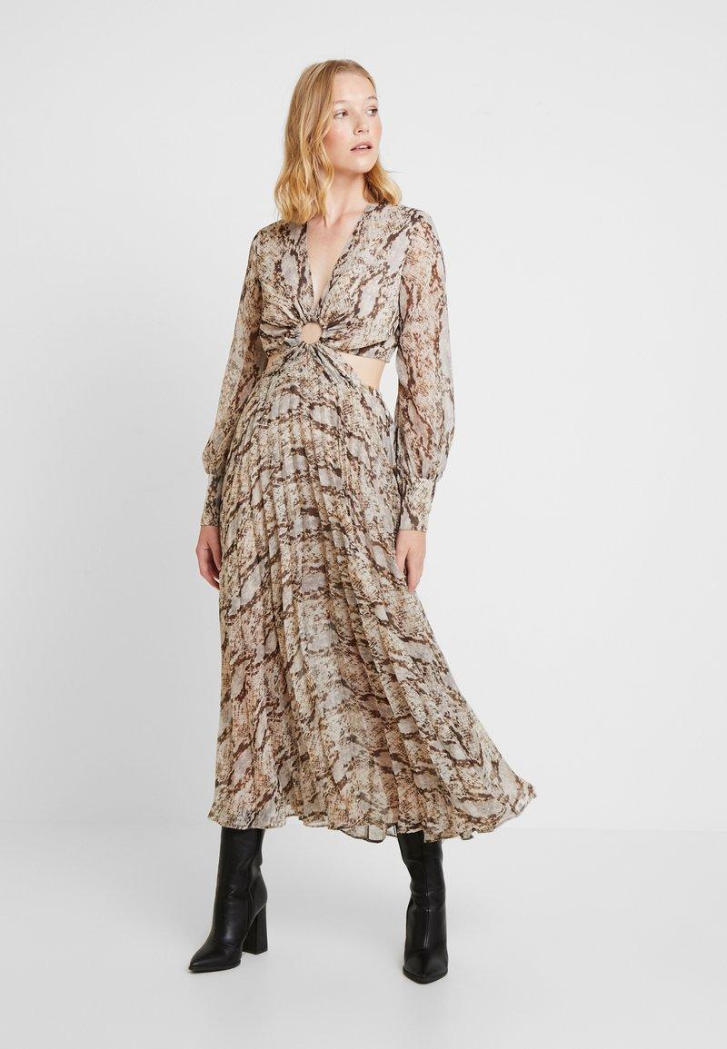 Bardot - SNAKE DRESS - Maxikleid - multi-coloured