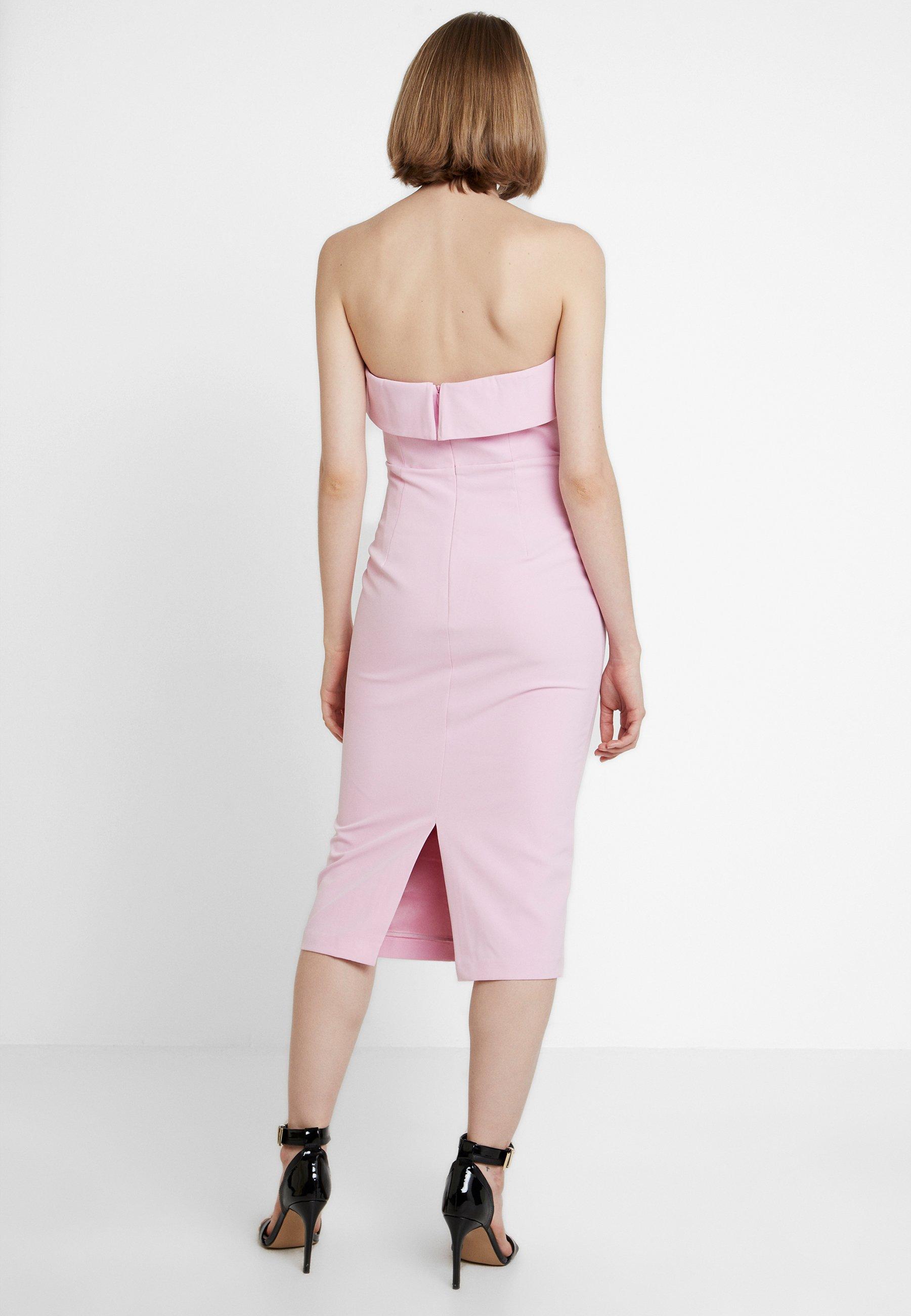 DressRobe Candy Georgie Cocktail Pink Bardot De Okn8P0Xw