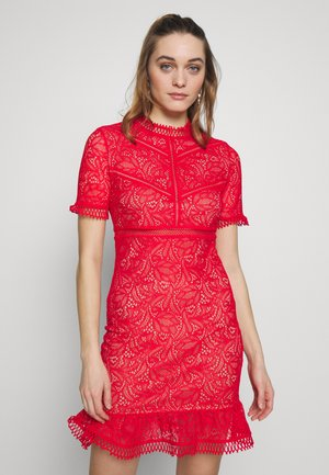 THEODORA DRESS - Cocktailklänning - fire red