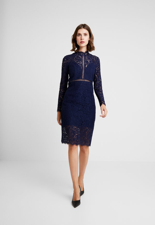 ROZIE DRESS - Cocktailkjoler / festkjoler - french navy