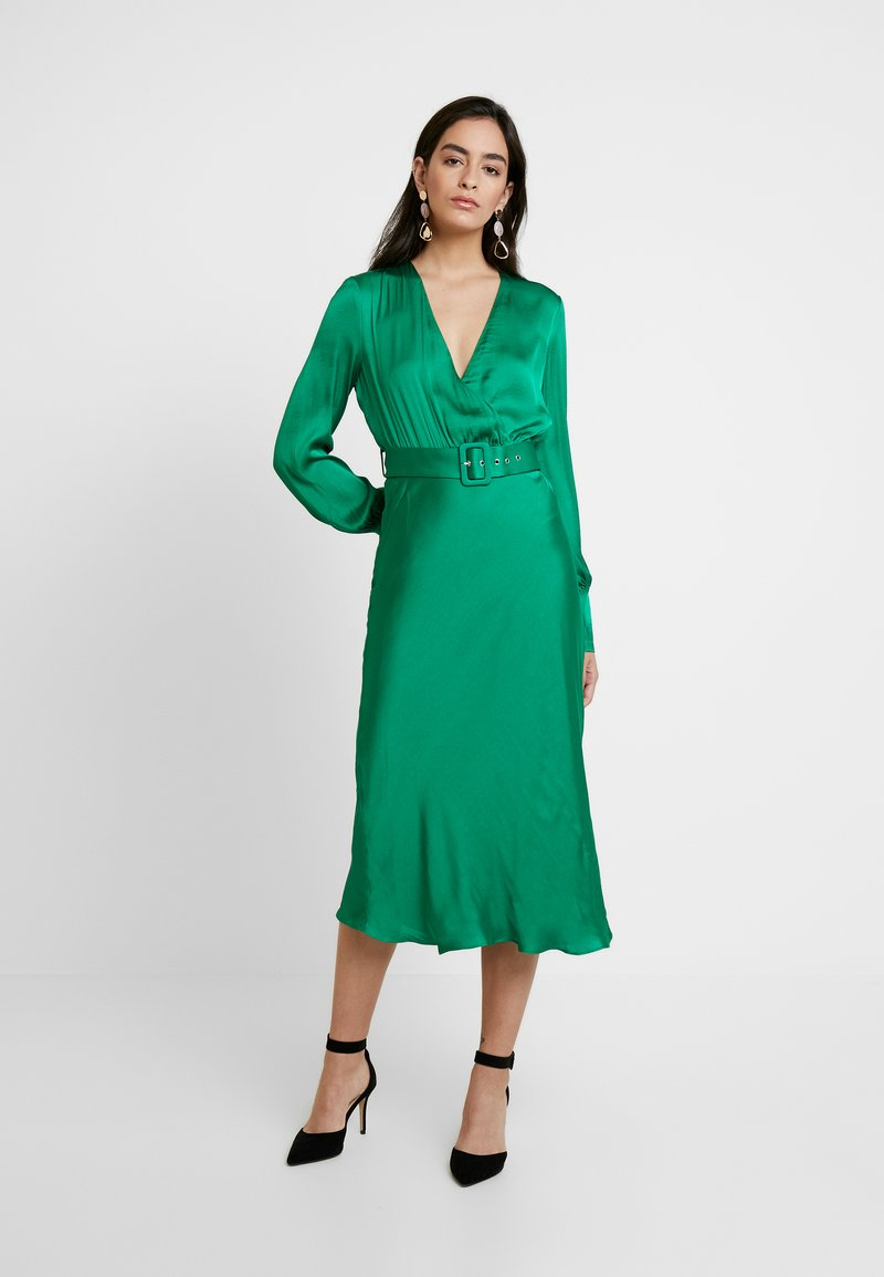 Bardot - SANDIEGO MIDI DRESS - Cocktailkleid/festliches Kleid - fern