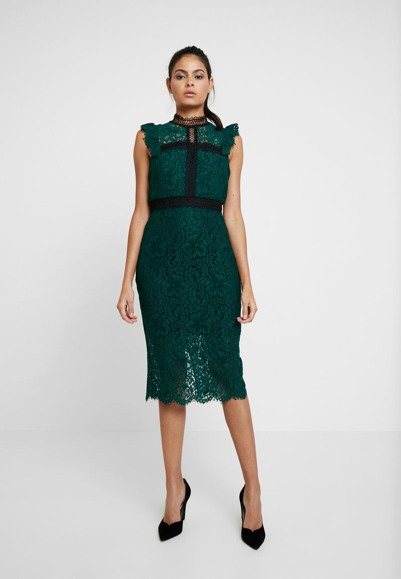 Bardot - LATOYA DRESS - Juhlamekko - hunter green