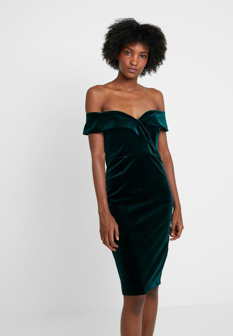 Bardot - BELLA DRESS - Koktejlové šaty/ šaty na párty - dark green