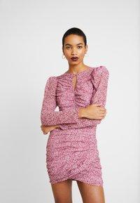 Bardot - CHARLOTTE DRESS - Robe fourreau - pink haze - 0