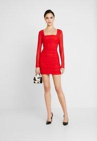 Bardot - TASHA DRESS - Juhlamekko - crimson red - 1