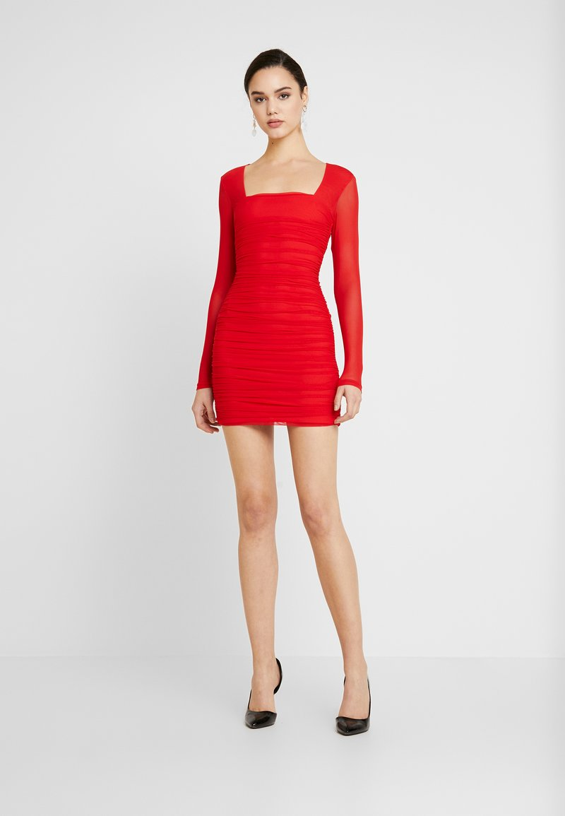 Bardot - TASHA DRESS - Juhlamekko - crimson red
