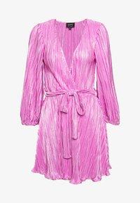 Bardot - BELLISSA PLEAT DRESS - Cocktailjurk - pink shine - 4