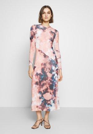 TIE DYE DRESS - Robe longue - multi