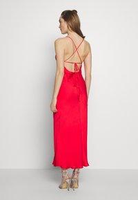Bardot - JASSIE SLIP DRESS - Denní šaty - fire red - 2