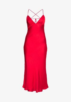 JASSIE SLIP DRESS - Vestido informal - fire red