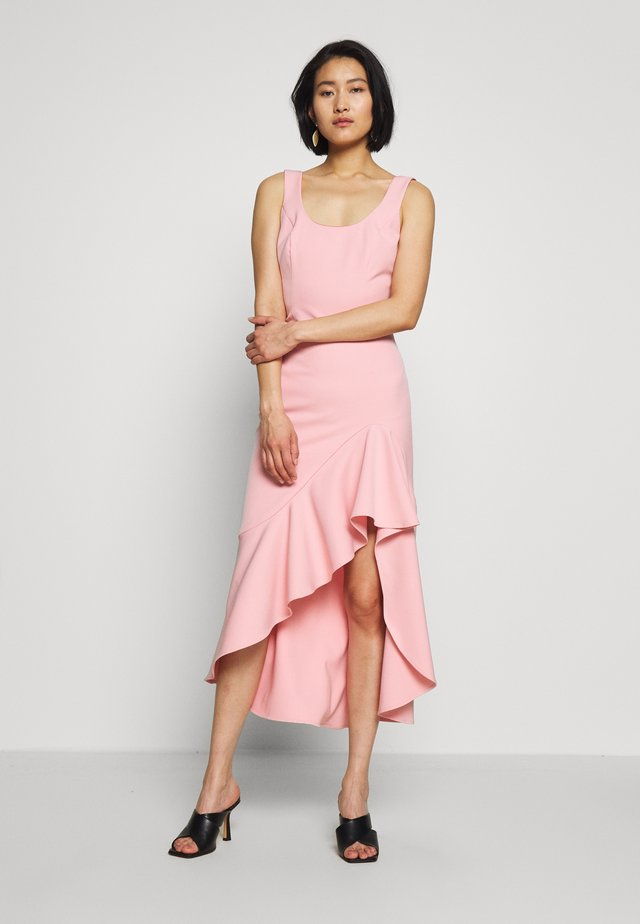 ESTHER FRILL DRESS - Juhlamekko - peachy pink