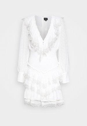 DIXIE MINI DRESS - Vestito elegante - ivory