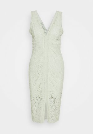 HALTER DRESS - Sukienka koktajlowa - pistachio