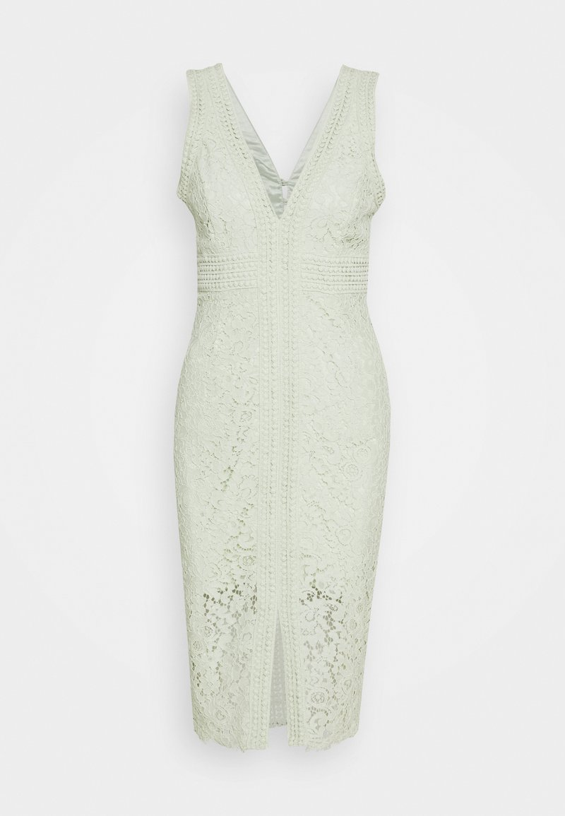 Bardot - HALTER DRESS - Cocktailklänning - pistachio