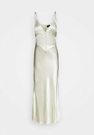 ZELDA SLIP DRESS - Vestido largo - pistachio