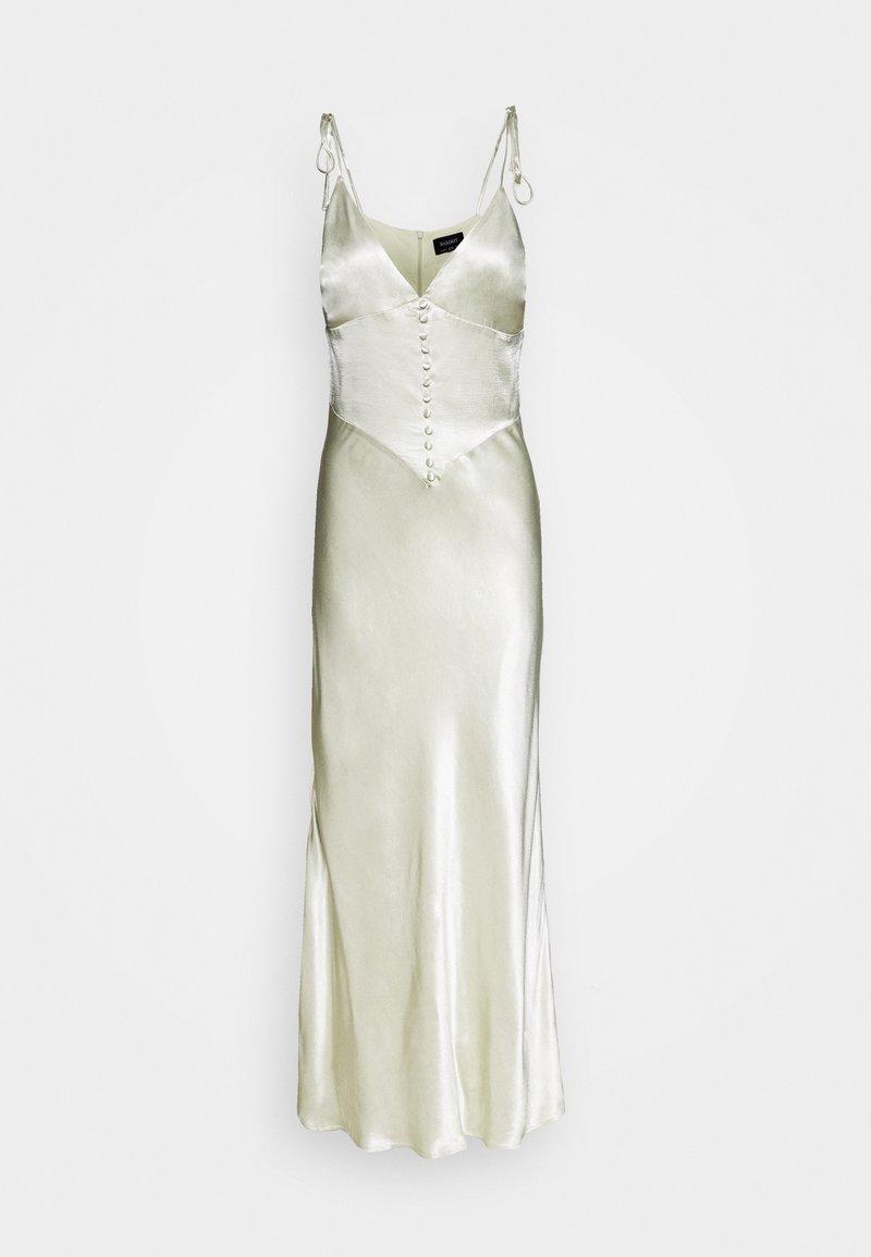 Bardot - ZELDA SLIP DRESS - Długa sukienka - pistachio