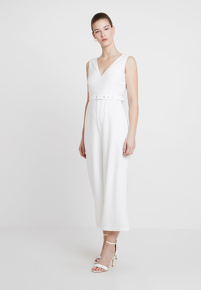 CUT OUT - Overall / Jumpsuit /Buksedragter - ivory