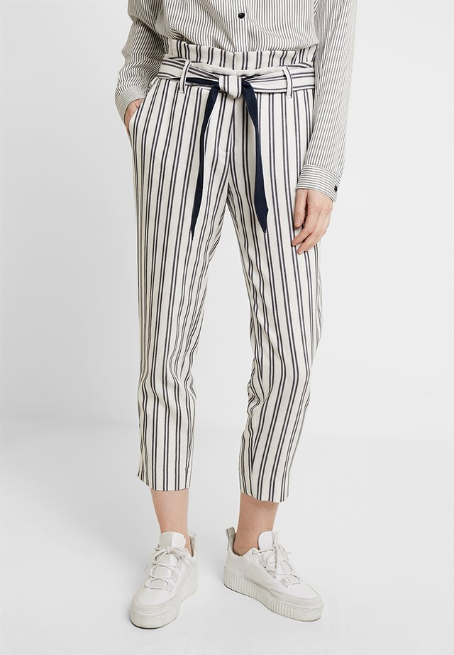 Pantaloni - white/blue