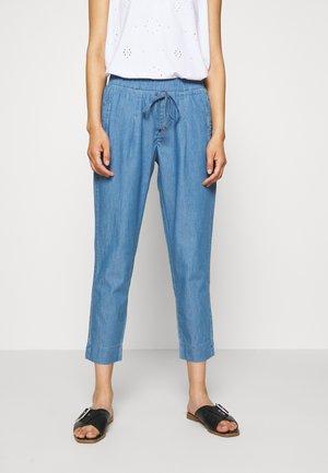 Trousers - blue denim