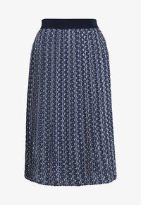 Betty & Co - ROCK - Veckad kjol - blue/nature - 3