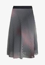 Áčková sukně - rosé/black