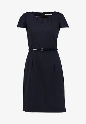 Shift dress - dark sapphire