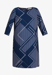 Betty & Co - Denní šaty - blue/nature - 4