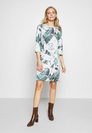 Day dress - grey/green