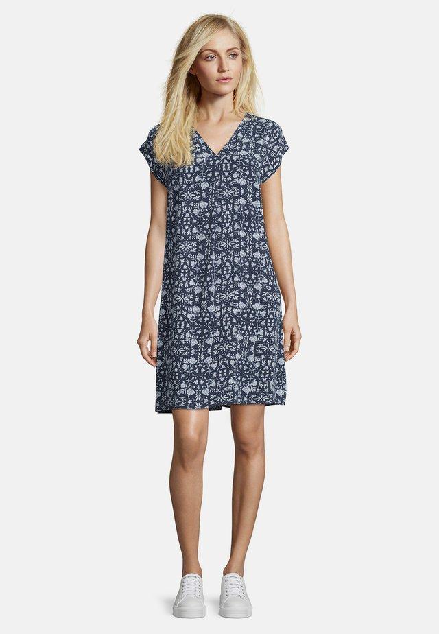 Day dress - blau/weiß