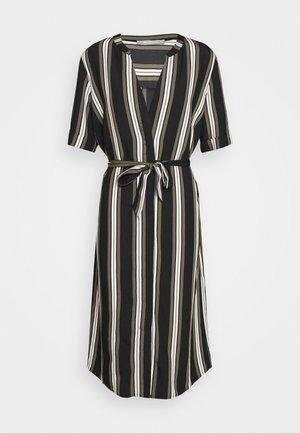 Denní šaty - khaki/black
