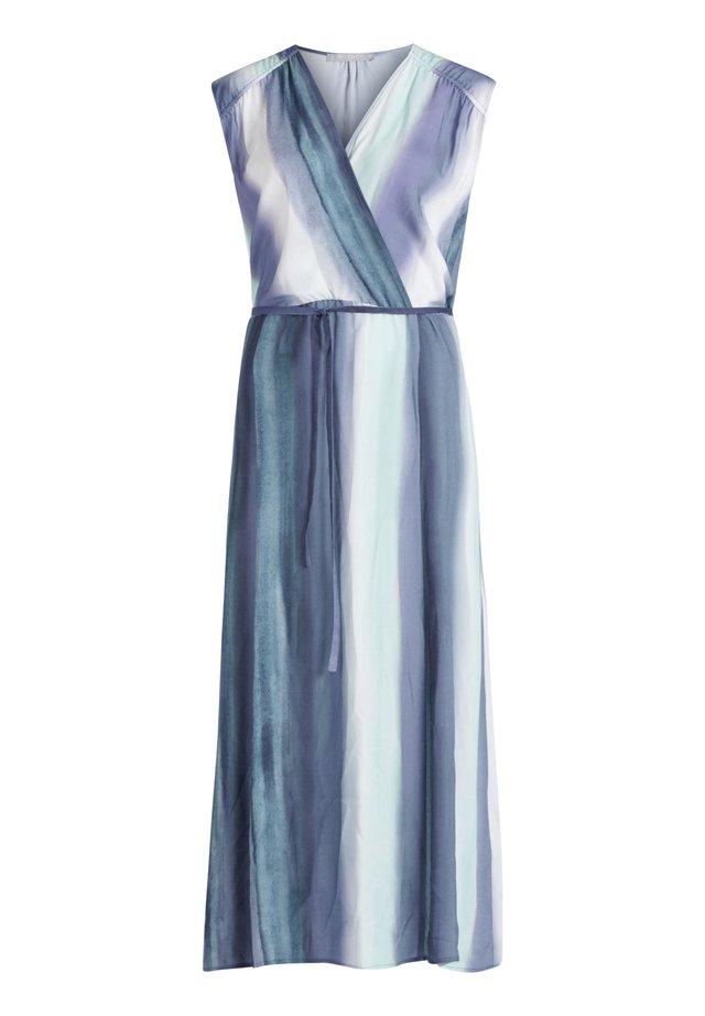 Maxikleid - blue-light blue