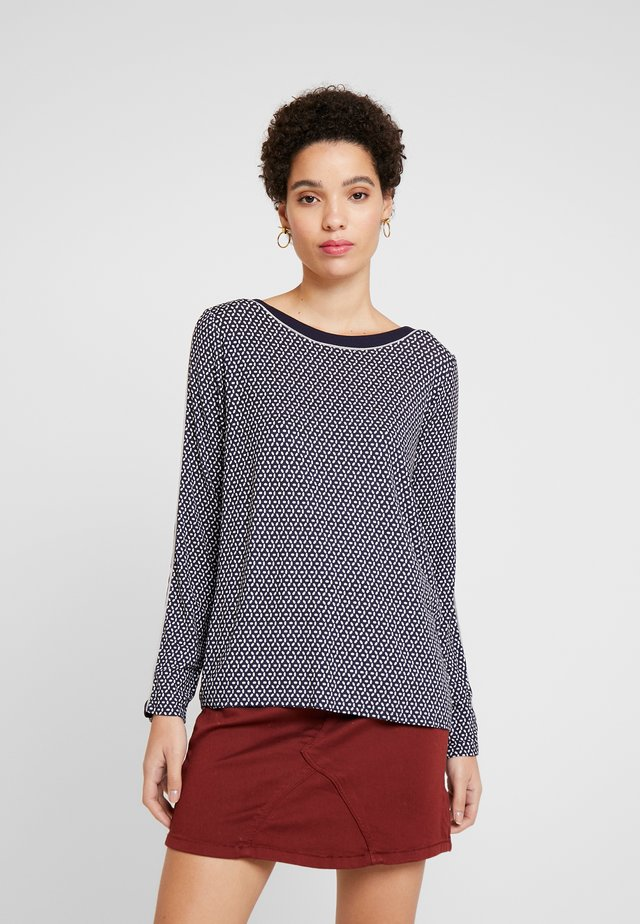MASSTAB - Long sleeved top - blue