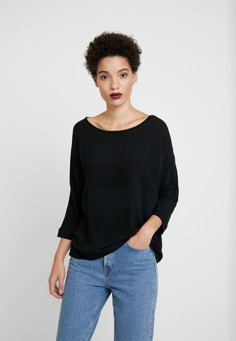 Betty & Co - Camiseta de manga larga - black