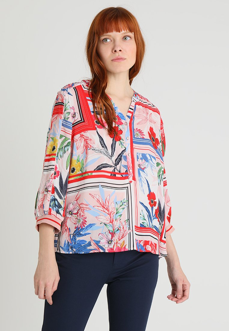 Betty & Co - Blouse - red/blue