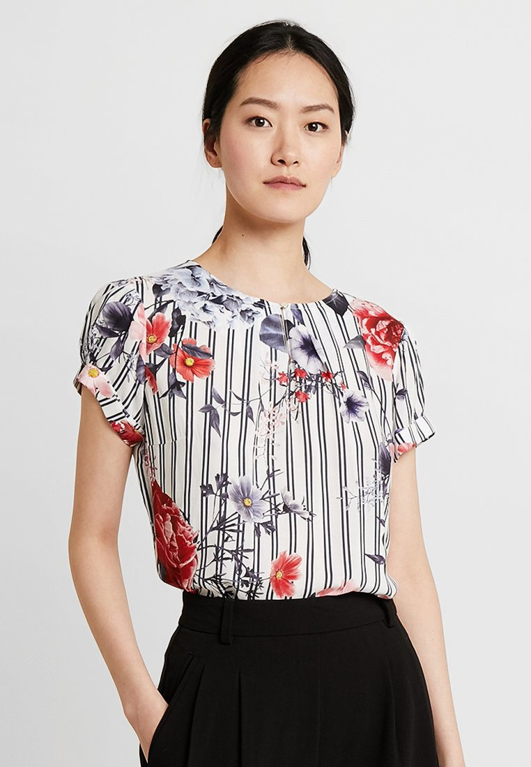 Betty & Co - Blusa - blue/red