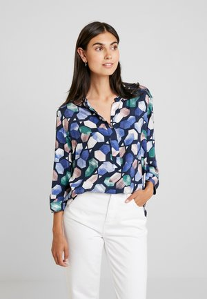 Blouse - blue/light blue