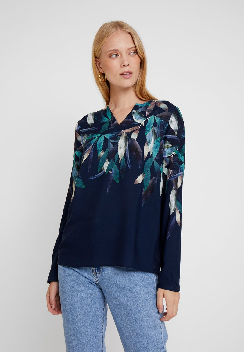 Betty & Co - Bluse - blue/green