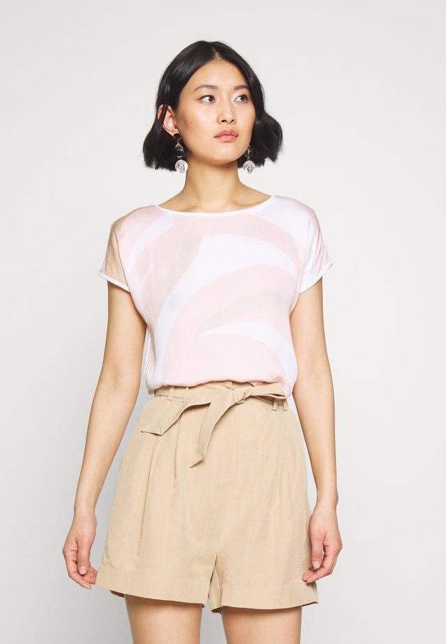 Bluse - white/rosé