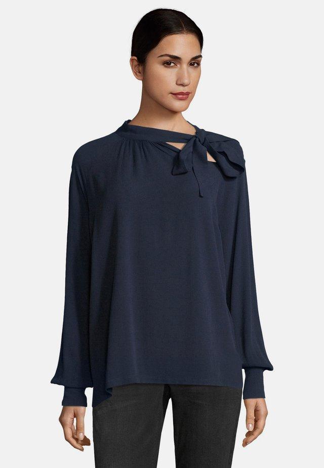 MIT STRUKTUR - Blouse - navy blue