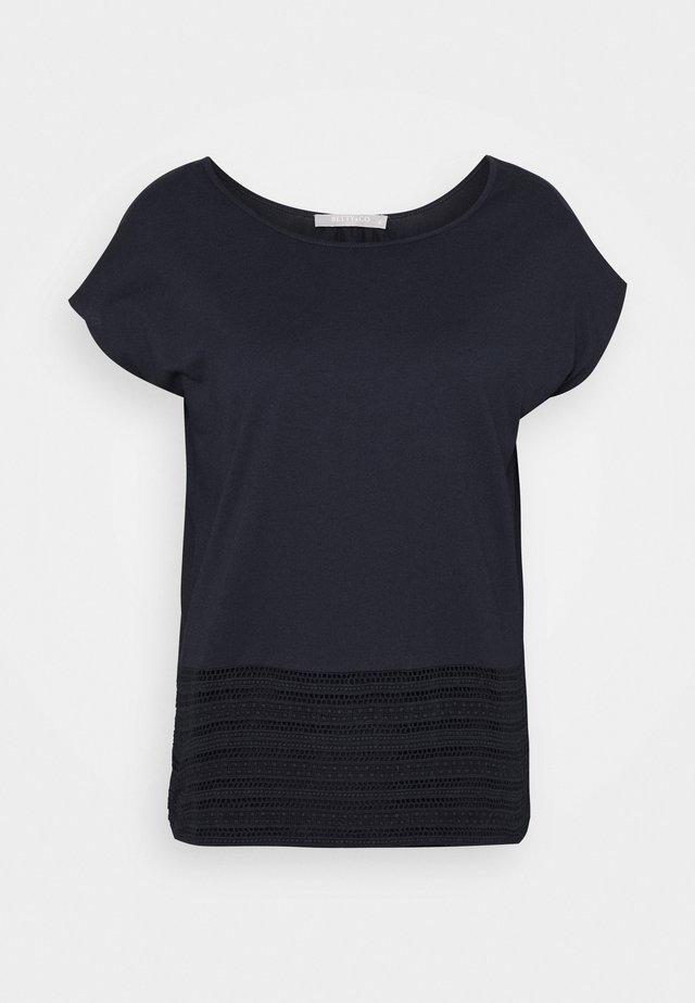 T-shirts print - navy blue