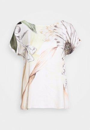 MASSTAB - Camicetta - white/khaki