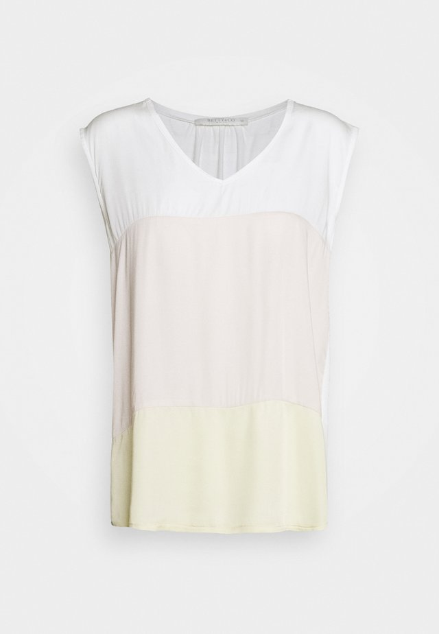 MASSTAB - Blouse - cream/yellow