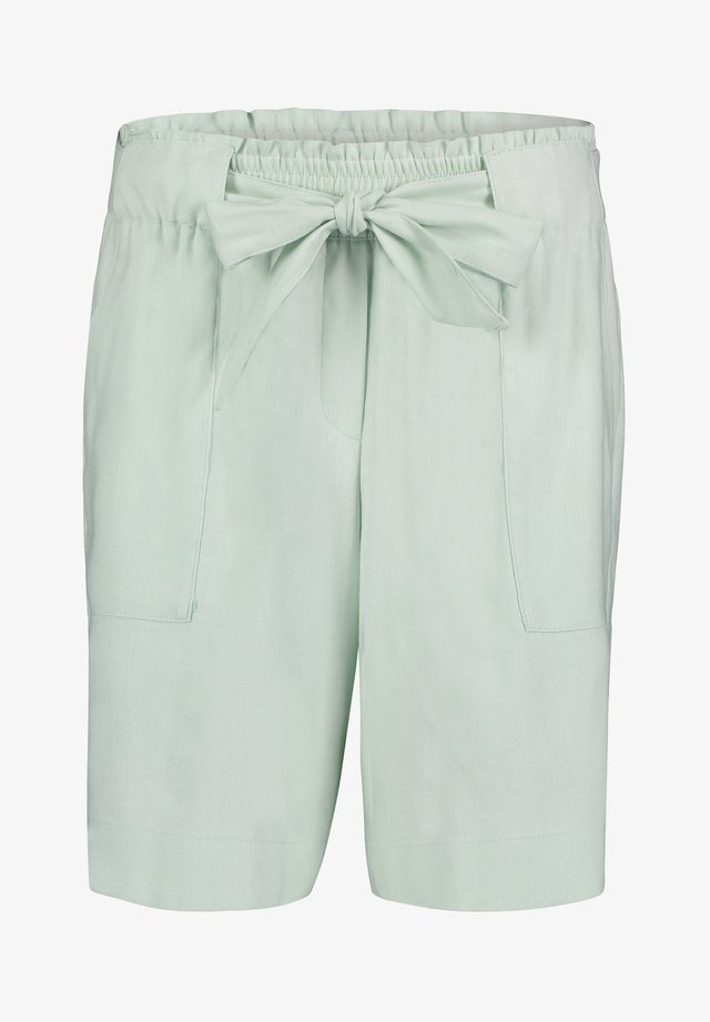 MIT BINDEGÜRTEL - Shorts - turquoise, light blue