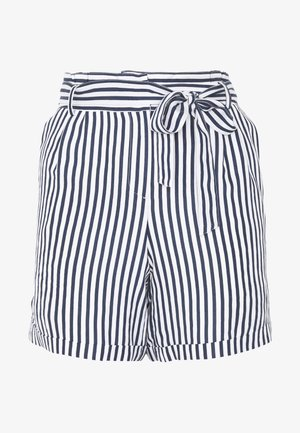 Shorts - white/blue