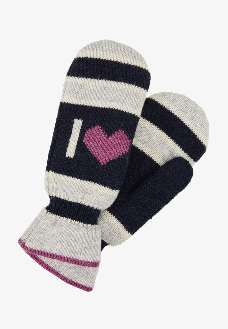 Becksöndergaard - EMERALD LOVE MITTENS - Palčáky - light grey melange