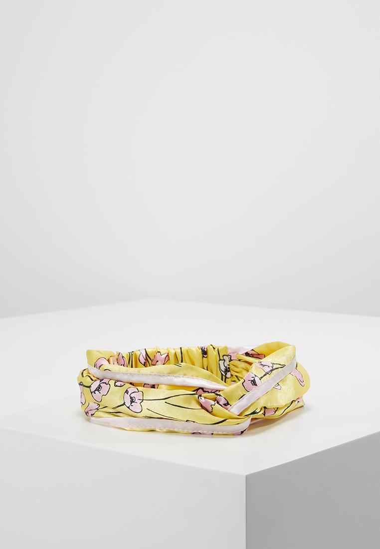 Becksöndergaard - HEADBAND SHELBY - Hair Styling Accessory - yellow