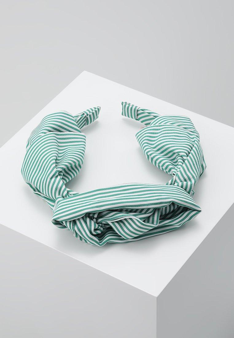 Becksöndergaard - SUMMER STRIPES HEADBAND - Hair styling accessory - grass green