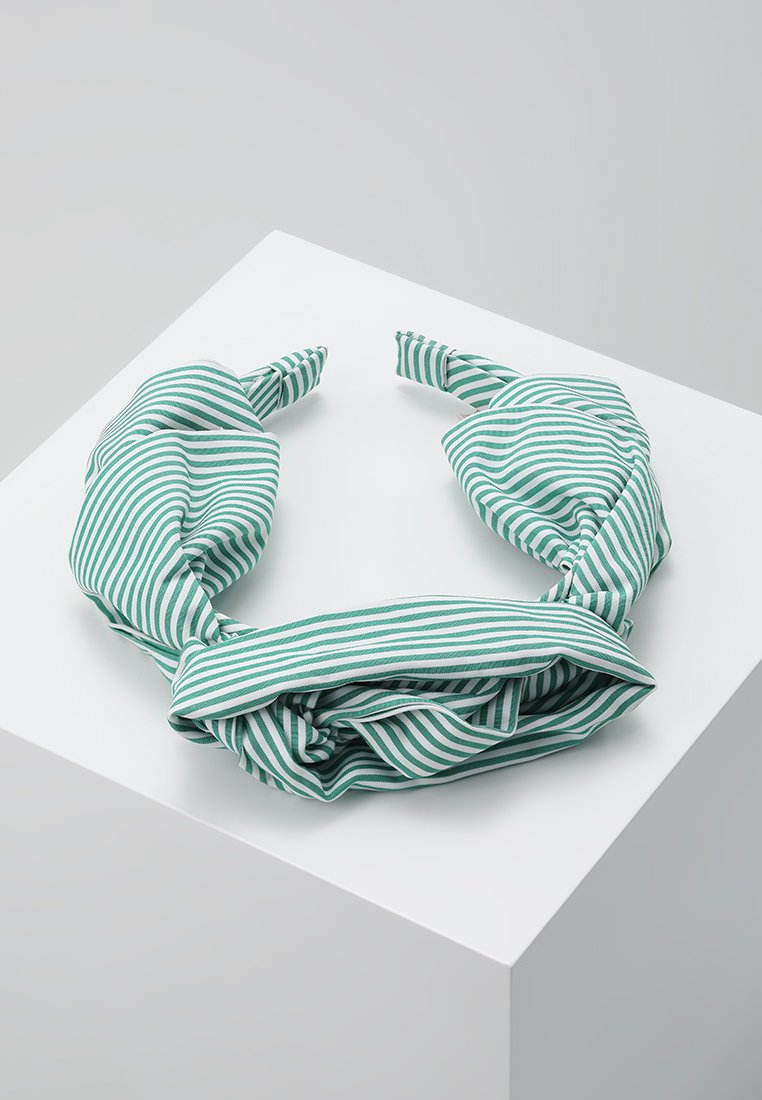 Becksöndergaard - SUMMER STRIPES HEADBAND - Haar-Styling-Accessoires - grass green